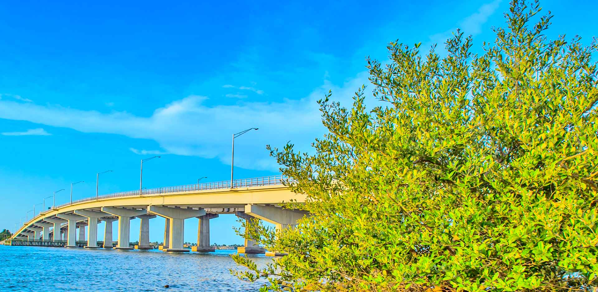 Jolly Bridge on Marco Island, Florida | Fortune's Lawn, Land & Tree Service