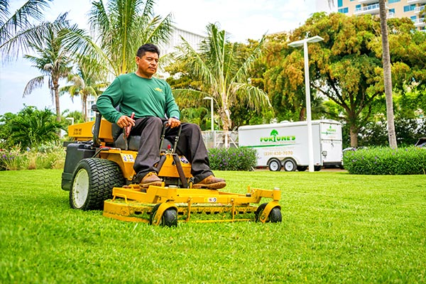 Mowing & Edging | Marco Island Land Services Provided by Fortune's Lawn, Land & Tree Service