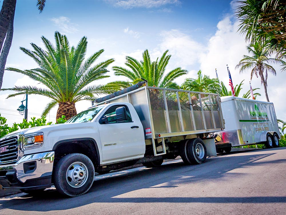 Who We Service: Commercial Properties & Residential Home Owners   Fortune's Lawn, Land & Tree Service, A Marco Island Landscaping Company